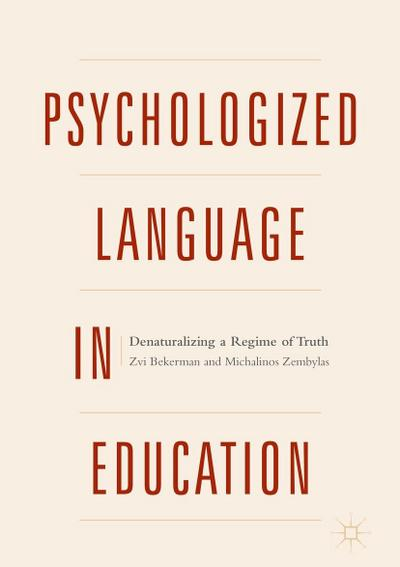 Psychologized Language in Education