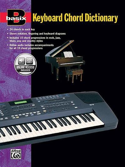 Basix Keyboard Chord Dictionary: Book & CD