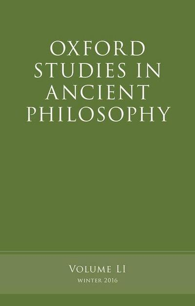 OXFORD STUDIES IN ANCIENT PHIL