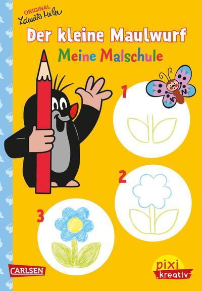 Pixi kreativ Nr. 75: VE 5 Der kleine Maulwurf: Meine Malschule