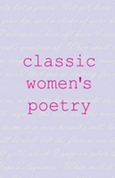 Classic Women's Poetry