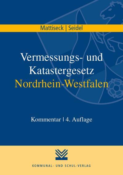 Vermessungs- und Katastergesetz Nordrhein-Westfalen