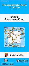 Bernkastel-Kues 1 : 50 000