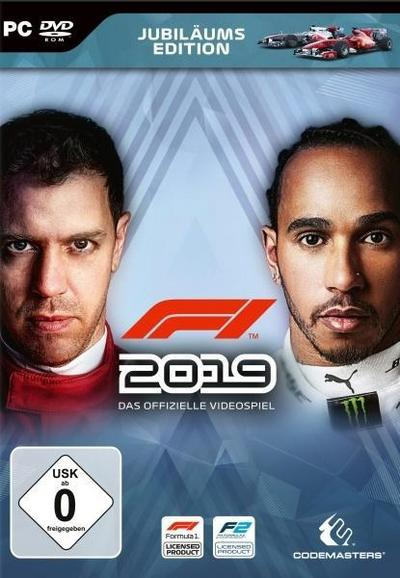 F1 2019 Jubiläums Edition. Für Windows 7/8/10