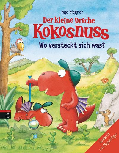 Der kleine Drache Kokosnuss - Wo versteckt sich was?: Spielbuch mit Magnetfigur (Spielbücher)
