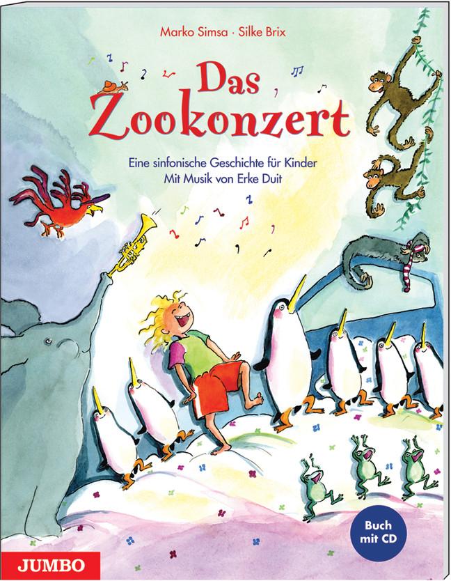 Marko Simsa ~ Das Zookonzert. Buch + CD 9783833724183