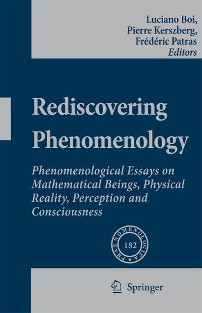 Rediscovering Phenomenology