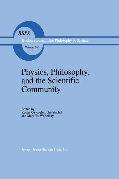Physics, Philosophy, and the Scientific Community