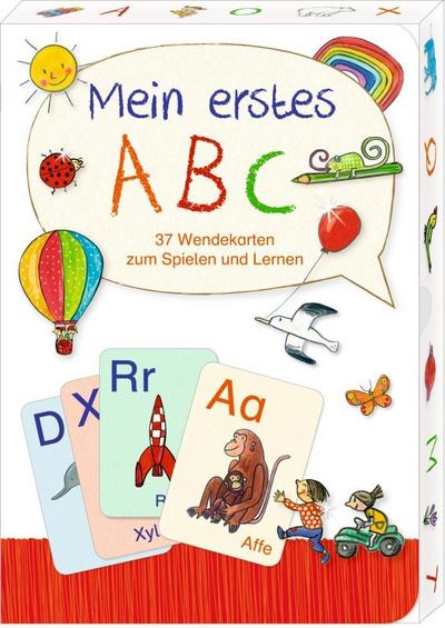 Wendekarten - Mein erstes ABC