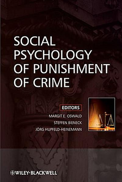Social Psychology of Punishment of Crime