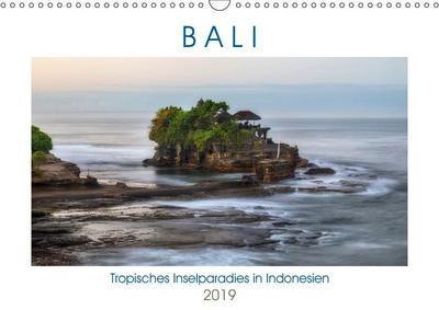 Bali, tropisches Inselparadies in Indonesien (Wandkalender 2019 DIN A3 quer)