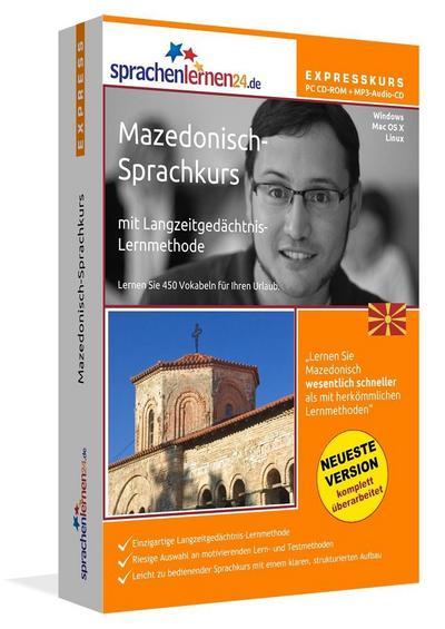 Mazedonisch-Expresskurs, PC CD-ROM m. MP3-Audio-CD