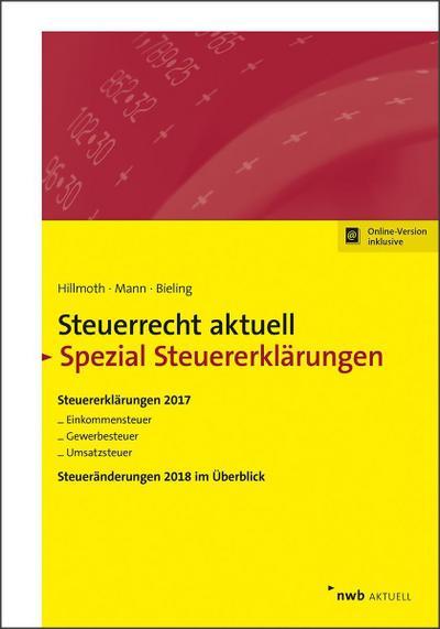 Steuerrecht aktuell Spezial Steuererklärungen 2017