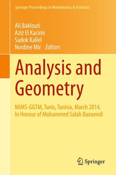 Analysis and Geometry