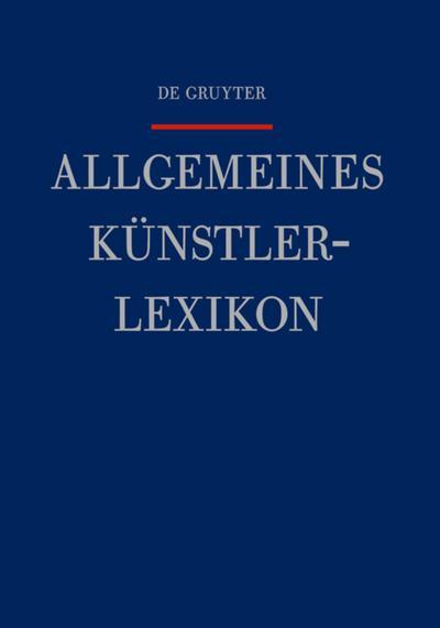 Allgemeines Künstlerlexikon (AKL): Lunt - Mandelsloh