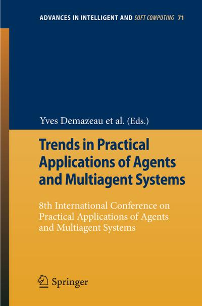 Trends in Practical Applications of Agents and Multiagent Systems
