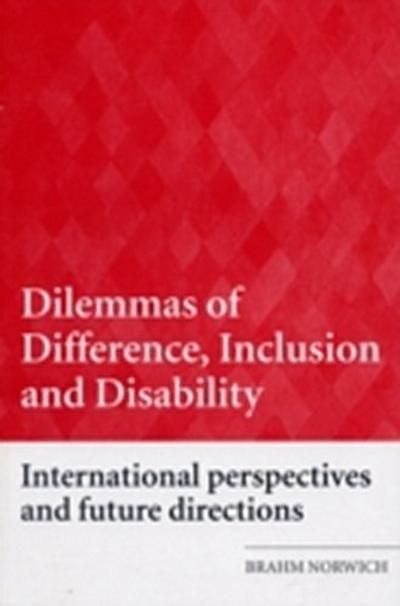 Dilemmas of Difference, Inclusion and Disability