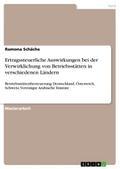 Ertragssteuerliche Auswirkungen bei der Verwirklichung von Betriebsstätten in verschiedenen Ländern