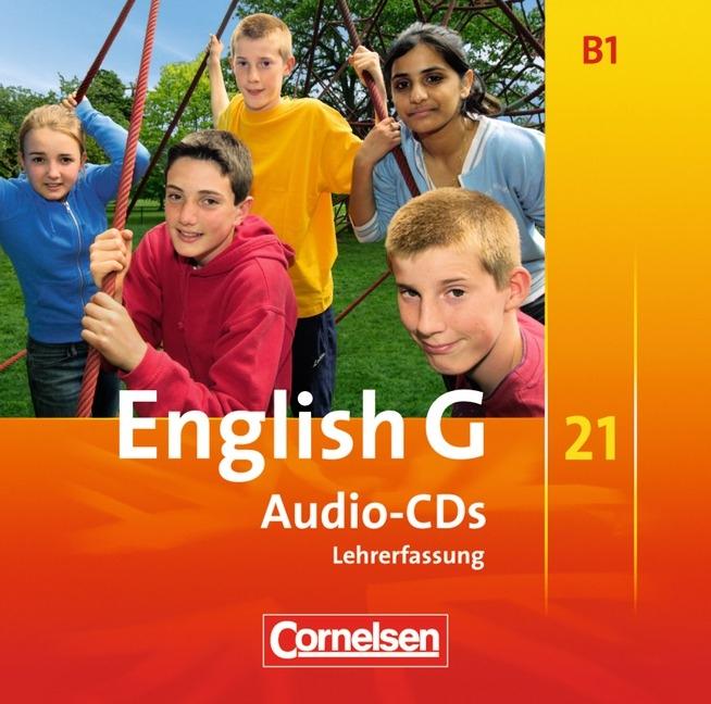 English G 21, Ausgabe B 5. Schuljahr, 3 Audio-CDs (Vollfassung) Hellmut Sch ...