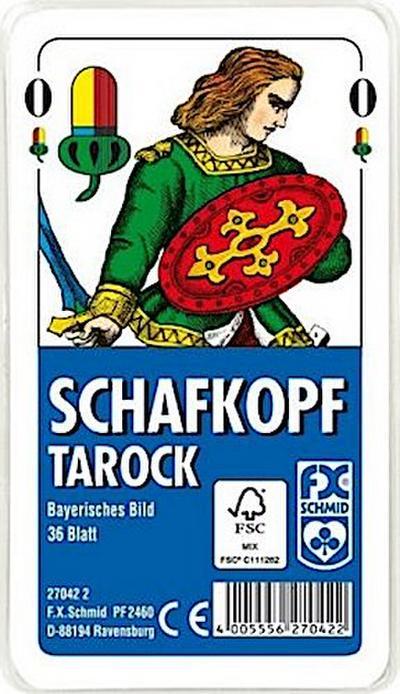 Schafkopf / Tarock, Bayerisches Bild (Spielkarten)