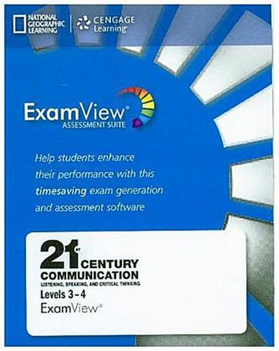 21st Century - Communication B2-C1.1: Level 3 and 4 - ExamView CD-ROM