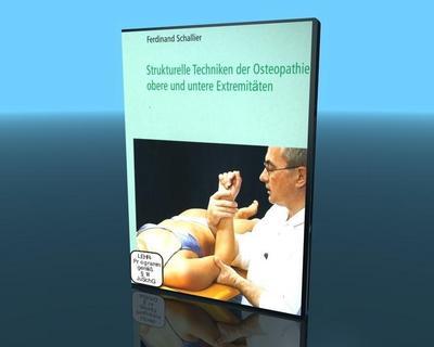 Struk.Techniken Osteopathie-Obere/Untere Extremi - Video-Commerz Gmbh - DVD, Deutsch, Fernand Schallier, Werner Sandrowski, Obere und untere Extremitäten, Obere und untere Extremitäten