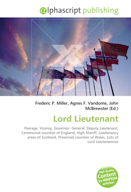 Lord Lieutenant | Frederic P. Miller |  9786130290900