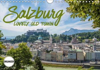SALZBURG Lovely Old Town (Wall Calendar 2019 DIN A4 Landscape)
