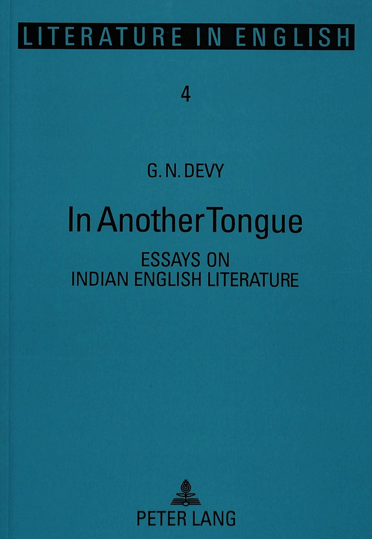 In Another Tongue, G. N. Devy