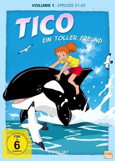 Tico – Ein toller Freund Vol. 1 (Folge 1-20)