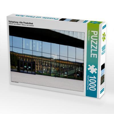 Spiegelung: Alte Pinakothek (Puzzle)