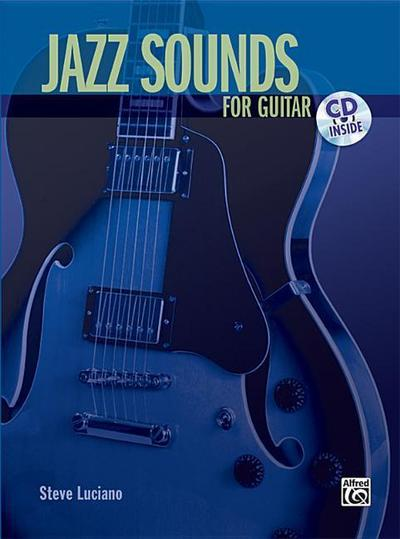 Jazz Sounds for Guitar: Book & CD