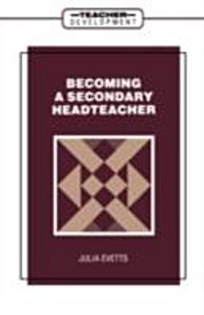 Becoming a Secondary Head Teacher