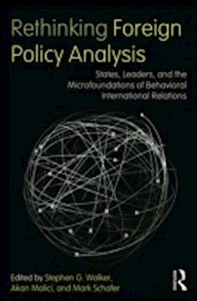 Rethinking Foreign Policy Analysis