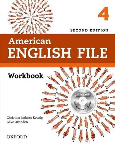 American English File 4: Workbook with iChecker