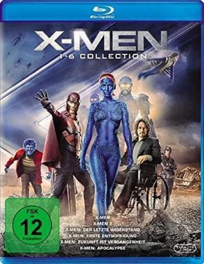 X-Men 1-6 Collection