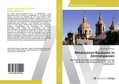 Renaissance-Baukunst in Zentralspanien