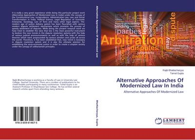 Alternative Approaches Of Modernized Law In India