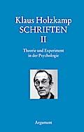 Theorie und Experiment in der Psychologie  Sc ...