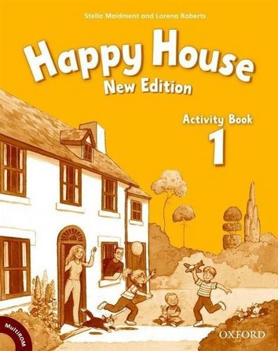 Happy House, New Edition Activity Book, w. CD-ROM/-Audio
