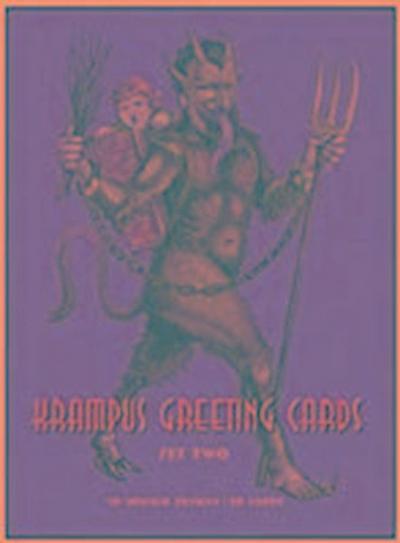 Krampus Greeting Cards #2