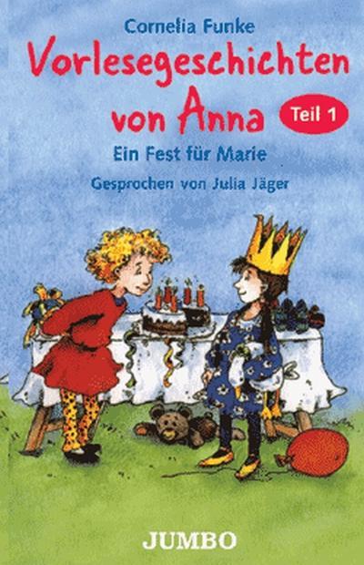 Vorlesegeschichten von Anna, 1 Cassette