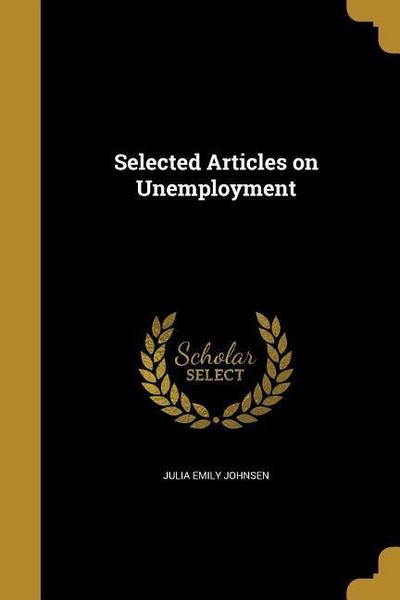 SEL ARTICLES ON UNEMPLOYMENT