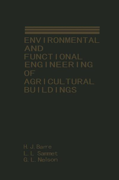 Environmental and Functional Engineering of Agricultural Buildings