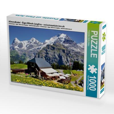 Allmendhubel - Eiger-Mönch-Jungfrau - swissmountainview.ch (Puzzle)