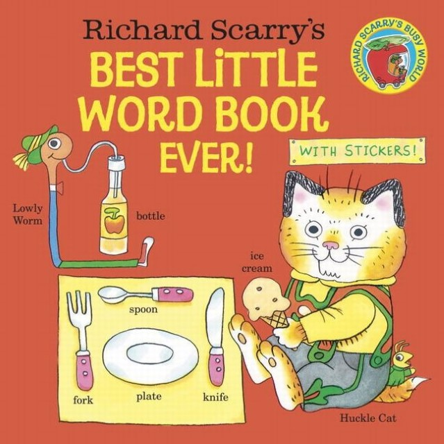 Richard Scarry's Best Little Word Book Ever! Richard Scarry 9780385392716