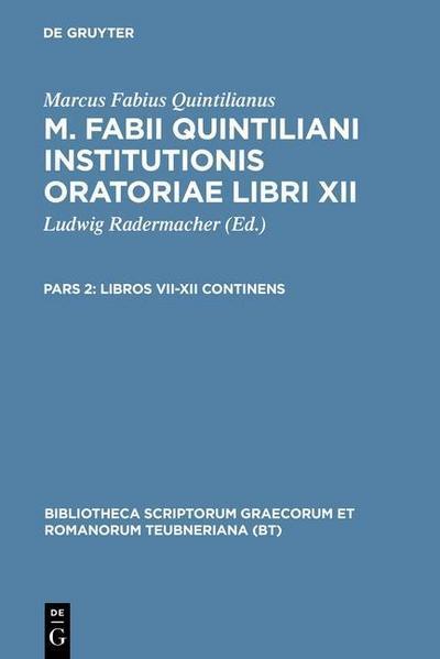 Libros VII-XII continens