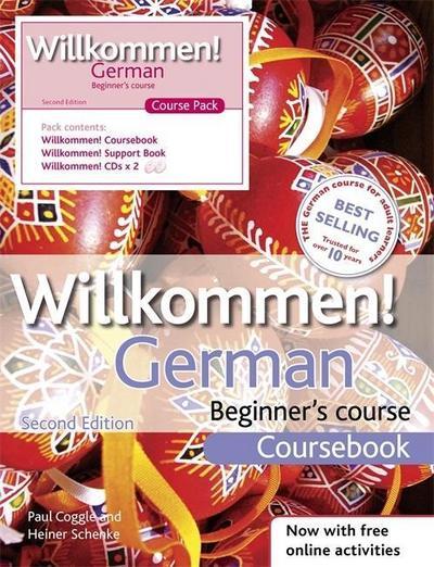 Willkommen German Beginner's Course: Course Pack