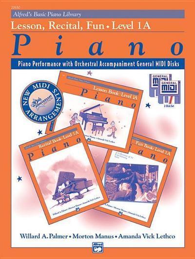 Alfred's Basic Piano Course: GM for Lesson, Recital & Fun Books, Level 1a (