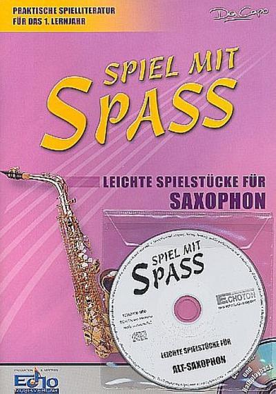 Leichte Spielstücke für Alt-Saxophon, m. Audio-CD